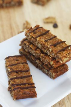 Chewy Peanut Butter Granola Bars {RECIPE} | Catch My Party