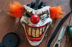 inspired twisted metal sweet tooth mask cosplay por Maskforsale