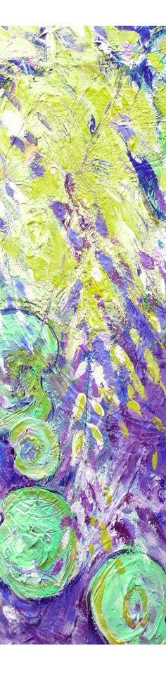 Lily Pads ll –  Artist: Sandy Rosen  $ 875.00 original  Acrylic on Canvas Available as a print in various sizes and prices. Great idea for: wedding gift, home decorating, design accessories, wall art, luxury accessories, floral design, framed artwork, residential art, office design, commercial artwork. www.sandyrosenart...