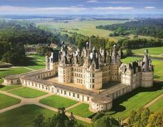 Chateau de Chambord Nature pictures Nature photos Nature images Nature pics #NaturePictures #NaturePhotos #NatureImages #NaturePics You can also relax by just listening music here: http://ift.tt/1JgrCUX