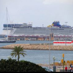 NCL Epic -Docked in Palma Majorca Spain. We were on the Epic!