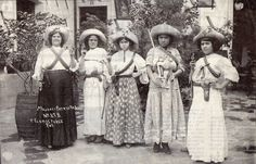 Mujeres de la Revolucion Méxicana