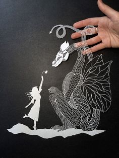 New York-based artist Maude White is back with some new meticulously crafted paper illustrations. Believe it or not, but these awe-inspiring paper cuttings are made entirely by hand, using only a craft knife.