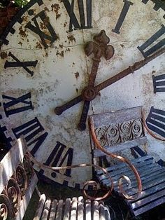 Vintage clock and chairs - Room Seventeen