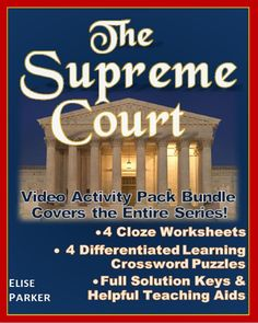 @greathistory posted to Instagram: Tap the link in my bio for more info:   @greathistoryteaching PBS The Supreme Court worksheets and puzzles cover all four episodes and are packed with fun, engaging student learning activities. Keep 'em on task, accountable, and having a great time while they study landmark cases that take them through the whole sweep of U.S. history! Great for government, civics, and history classes! Includes answer keys and teacher convenience features including print-and-go Hands On Activities, Learning Activities, Teaching Resources, Teaching Tools, History Class, Full History, Judicial Branch, Crossword Puzzles, Teaching Aids