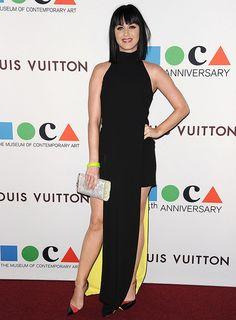 Katy Perry looks sensational in Versace at MOCA's 35th Anniversary Gala - Cosmopolitan