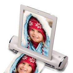 iPad Docking Station Scanner Whtnow featured on Fab