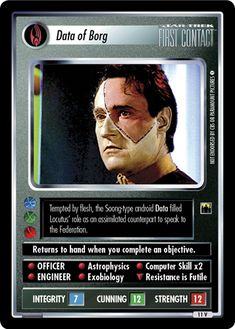 Star Trek Ccg, Star Trek Series, Star Wars, Collector Cards, Astrophysics, First Contact, Trading Cards, Movie Stars, Science Fiction