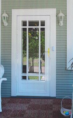 http://www.ireado.com/stylish-security-storm-doors-make-your-home-more-safety/ Stylish Security Storm Doors Make Your Home More Safety : Classic Wrought Iron Security Door Security Storm Doors
