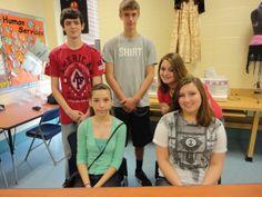 20141 FCS@Hamshire-Fannett High School...3rd Period Hospitality...