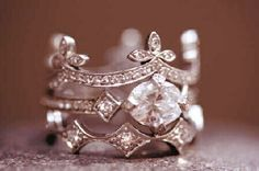 Diamond ring - Cathy Waterman Cool vintage style ring
