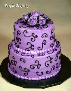 Gorg purple cake