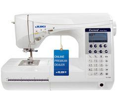Sewshop: Not only sewing - Macchine per cucire Juki serie F Video dimostrativo delle macchine per cucire F300 F400 F600, la serie top di gamma di Juki con 5 Anni di garanzia