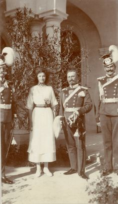 Tatiana with some of her uhlans