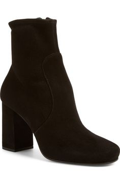 Prada Stretch Suede Bootie (Women) available at #Nordstrom