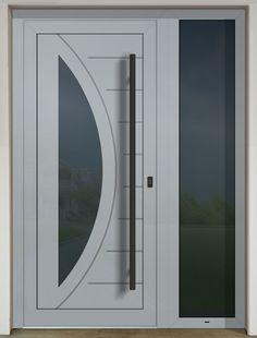 GAVA 438 šedá s prísvetlíkom a čiernym madlom Bedroom Closet Design, Bathroom Lighting, Doors, Mirror, Home Decor, Bathroom Light Fittings, Bathroom Vanity Lighting, Decoration Home, Room Decor