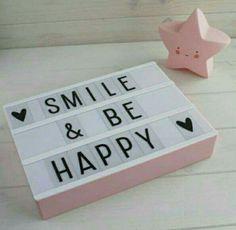 Smile & be happy ♡