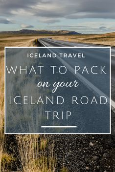 A complete guide on how to plan and what to pack on an Iceland road trip in autumn