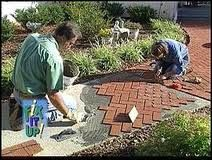 Brick veneer over concrete