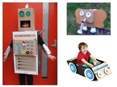 Cardboard Creativity from Modern Parents Messy Kids - great website!