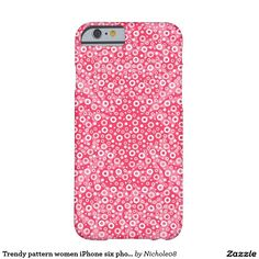 Trendy pattern women iPhone six phone case Barely There iPhone 6 Case