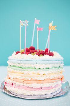 marängtårta meringue cake 101ideer.se
