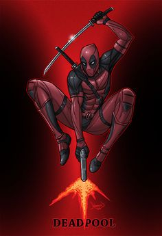 #Deadpool #Fan #Art. (Deadpool) By: Hamex. ÅWESOMENESS!!!™ ÅÅÅ+