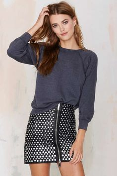 After Party Vintage All Day Long Sweatshirt | Shop Clothes at Nasty Gal!