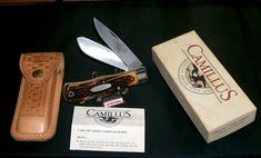 Camillus 716S Knife & Sheath Dual Locks & Dura-Stag Handles W/Original Packaging @ ditwtexas.webstoreplace.com