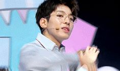 Wonwoo in glasses is a fave