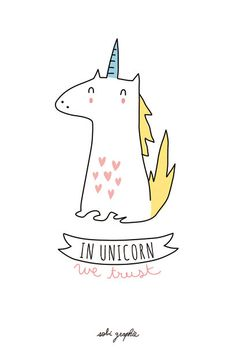 card A6 350 gr choice : Unicorn cupcake cat ... by Sobigraphie