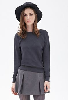 Ribbed Knit Sweater | FOREVER21 - 2052288968