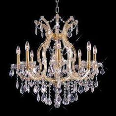 Elegant Lighting E2800D26CRC Maria Thresea Mid Sized Chandelier Chandelier - Chrome