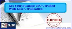 Elite #Certification provides best #ISO9001 certification services, #CEmarking services, #HACCP certification in Noida, India. To know more visit @ http://www.elitecertification.com/iso-9001-certification-companies-in-delhi-india/