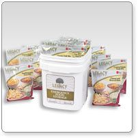 60 Serving Gluten Free Entree Bucket