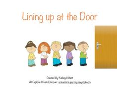 "This simple social story teaches young children what it means and what it looks like to get in a ""line."" (A simple task that some children do not understand until they are shown.) This story will help children see what they need to do to successfully stand in a line and walk down the hallway at school in a safe and respectful way."