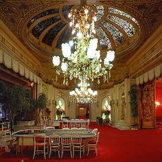 Baden Baden Casino--you dressed up to go, & it was quiet inside!