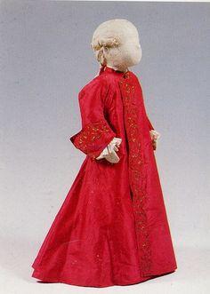 Child's zamberlucco (full-length robe), circa 1700-1724, Venetian (Ca' Mocenigo, Venice)