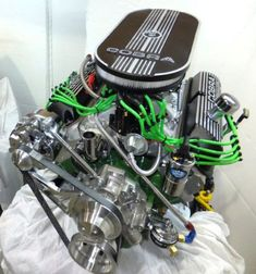 Ford Crate Engine with Manual Transmission for Cobra and Mustang - Mustang Engine, Ford Mustang, Mustang Cars, Motor Engine, Car Engine, Engine Block, Cobra Kit, Ac Cobra, Ford 351
