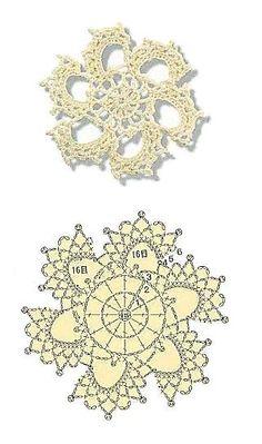 snowflakes crochet 18