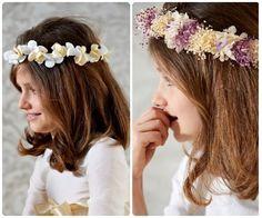Peinados de Comunión: cómo peinar a las niñas
