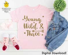3rd Birthday Party For Girls, 1st Birthday Shirts, Girl Birthday Themes, Girl Themes, Birthday Ideas, Unisex Fashion, Shirts For Girls, Unisex Style, Cold