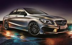 2016 Mercedes Benz CLA 250 Wallpaper Download