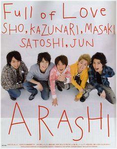 Arashi : Full of Love <3