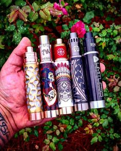 Mech mods Photo by @stankonya Tag a friend by vapeporn