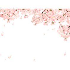 フリーイラスト, ベクター画像, AI, 背景, 植物, 花, 桜(サクラ), ピンク色の花, 春, 花びら