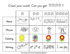 Writing Rubric for kindergarten. Free on TPT :) 1st Grade Writing, Work On Writing, Teaching Writing, Writing Skills, Writing Activities, Writing Rubrics, Writing Ideas, Writing Centers, Teaching Ideas