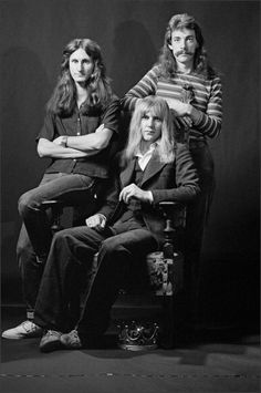 Geddy Lee, Alex Lifeson, Neil Peart ... 70s