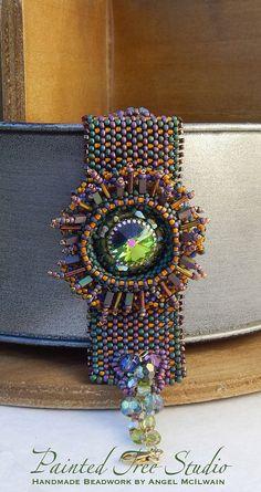 Eye of the World Bracelet Peyote