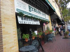 Byblos Cafe is known for their fantastic Mediterranean/Lebanese Cusine and is family owned.  Located in Orange, CA (Circle of Orange)   http://www.sideorder.com/byblos-cafe/875/